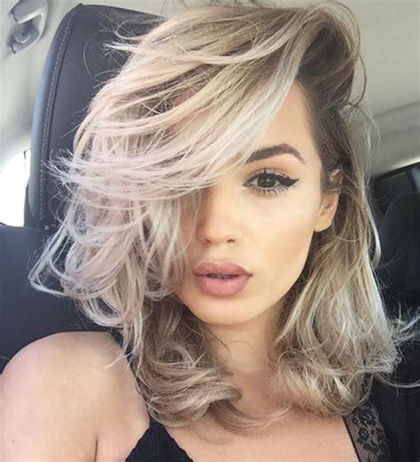 cute hair color ideas for summer side swept very cute hot hair color ideas 2017 2018