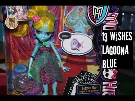 monster high 13 wishes lagoona monster high 13 wishes lagoona blue opening review