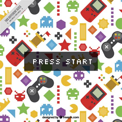 Design Pattern Jeu Video | controle video game vetores e fotos baixar gratis
