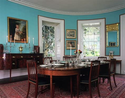 Historic Dining Room Colors Nathaniel House A Museum Property Of Historic
