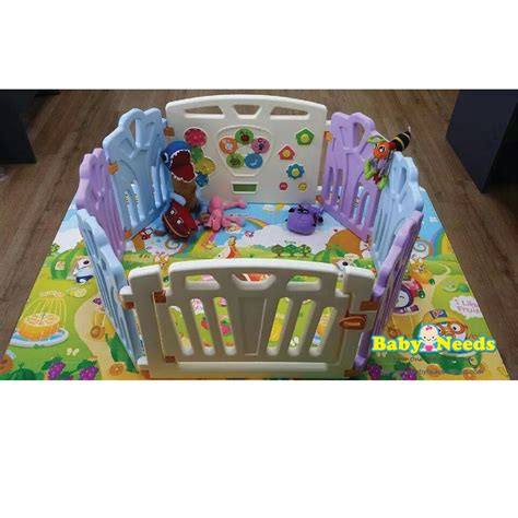 Coby Haus coby haus safety play fence 6 2 panel baby needs