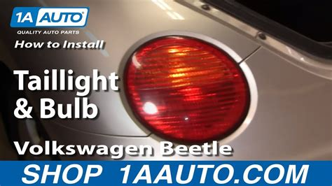 install replace taillight  bulb volkswagen