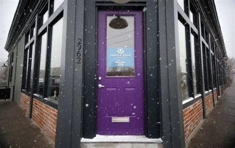 Purple Door Coffee purple door coffee shop in denver co purple doors
