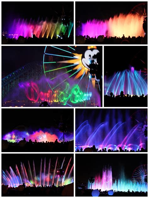 world of color viewing areas disneyland magical parades shows