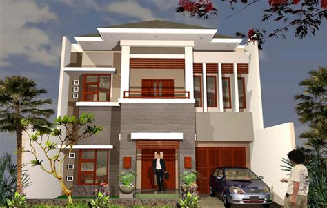 desain rumah tingkat minimalis 2 lantai type 60 36 45 120 terbaru desain rumah minimalis
