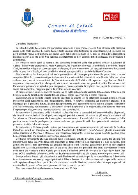 lettere al presidente della repubblica lettera al presidente della repubblica quale cefal 249