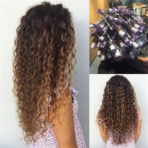 pin curl or spiral perm average cost spiral perm on this long hula hair dadahawaii