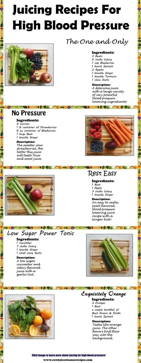 Low Sugar Detox Juice Recipes by Juicing For High Blood Pressure Juice Cleanse Recipes