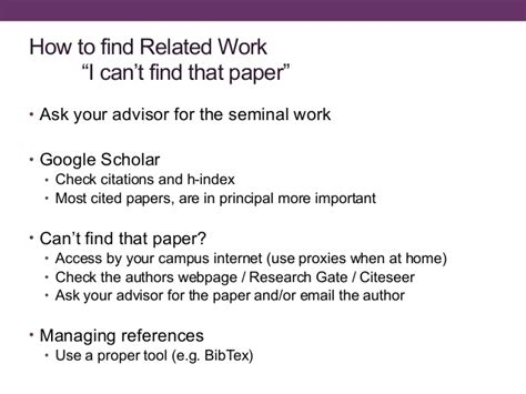 thesis advisor ask how to write a thesis and survive the process