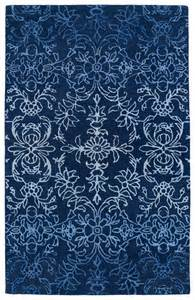 blue accent rug kaleen divine div01 17 blue area rug