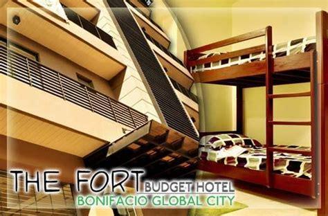 fort budget hotel bonifacio global city hotels