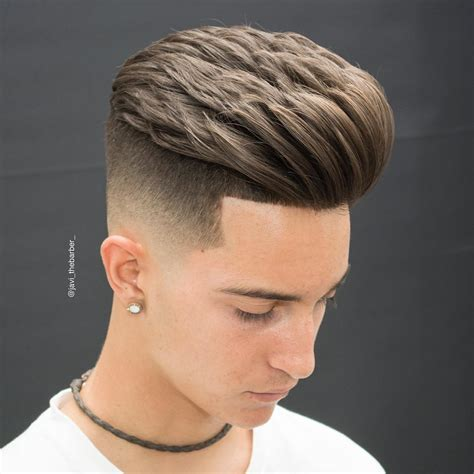 new popular barbering trends haircut style 2017 men