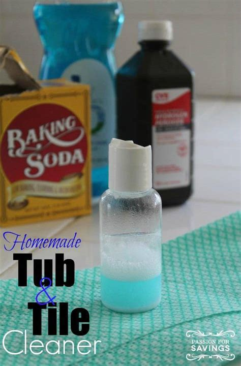 homemade bathtub homemade tub tile cleaner