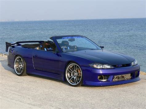 widebody nissan 240sx rhd nissan 240sx s15 front widebody convertible used