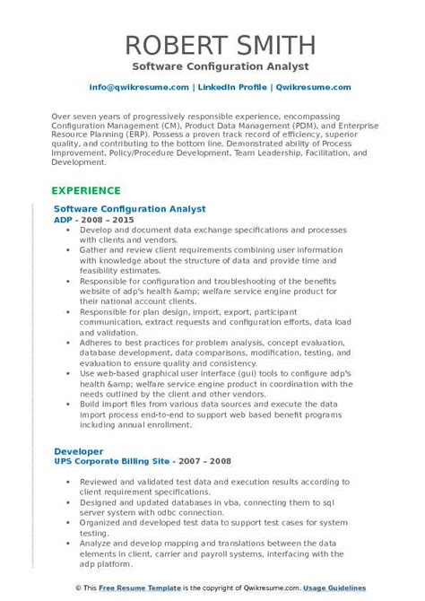 Configuration Analyst Cover Letter by Configuration Management Analyst Sle Resume Awesome Configuration Manager Resume Pictures