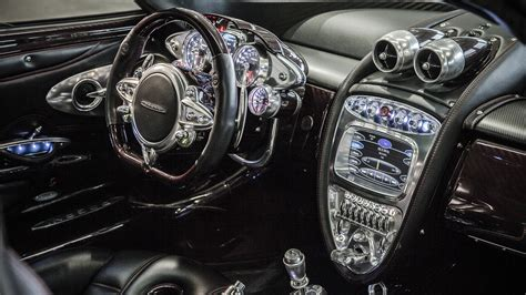 pagani interior a perfect blend of past and future the interior of the