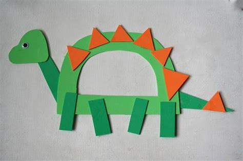 construction paper crafts for boys 21 dinosaur crafts ideas for your boys spaceships