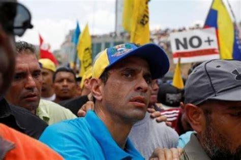 capriles ultimas noticias com ve inhabilitan a capriles para postularse a presidencia en