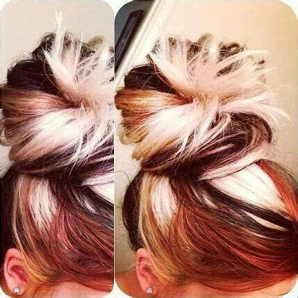 tri color hairstyles 39 best images about hair on pinterest bleach blonde
