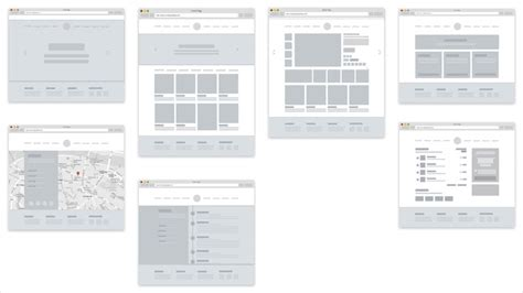simple ecommerce template 30 free mobile ux web wireframe templates