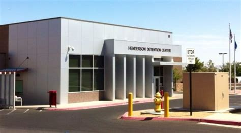 Henderson Nevada Arrest Records Henderson Detention Center Inmate Search