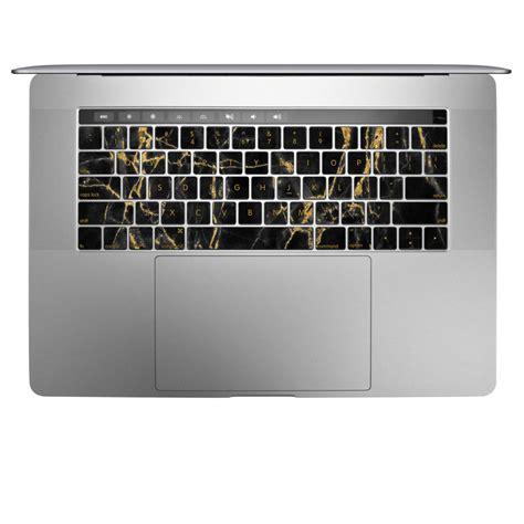 Macbook Pro 13 Marble Black Gold apple macbook pro 13 and 15 keyboard skin black gold