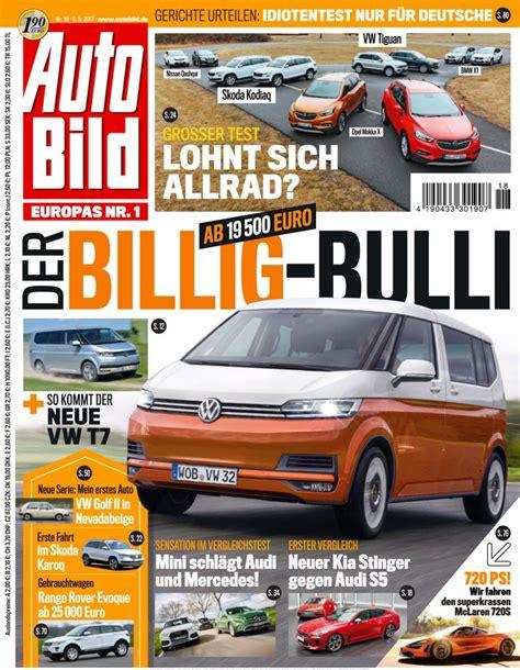 Auto Bild Lesen by Auto Bild Vom 05 05 2017 Als Epaper Im Ikiosk Lesen