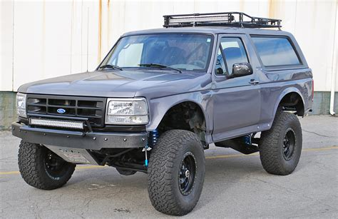 prerunner bronco stage 6 bronco trophy travel front rear suspension