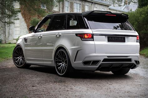 land rover sport custom range rover sport styling package by aspire design