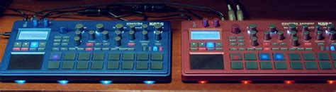 Korg Electribe 2 Metallic Blue electribe 2 02 blue update sequencer