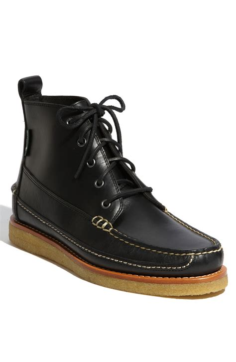 eastland s boots eastland stonington boot in black for lyst