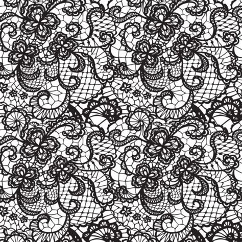 pattern lace vector beautiful lace black pattern vector 10 vector pattern