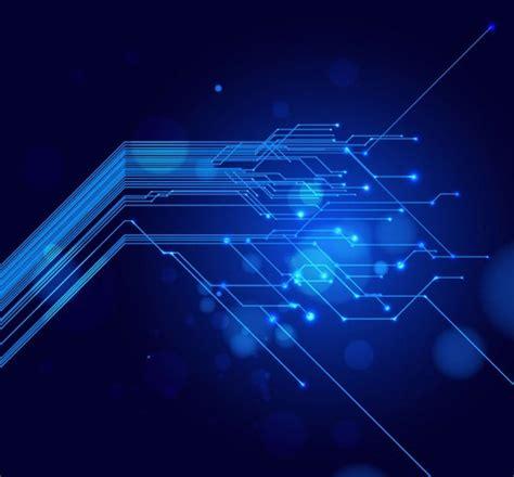 blue light  tech background  vector art