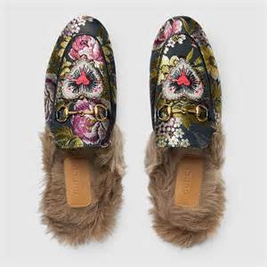the shoe of the season gucci s princetown s closet