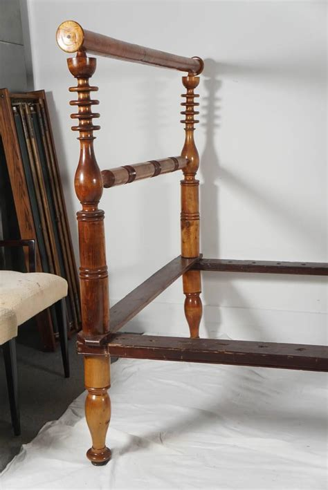rope bed early american single rope bed or daybed at 1stdibs