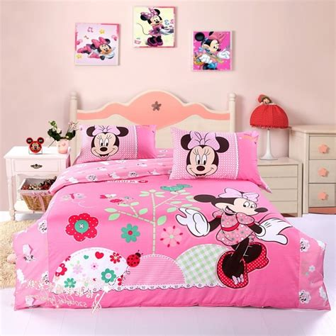 minnie mouse bedrooms give the kids memorable moment with minnie mouse wall d