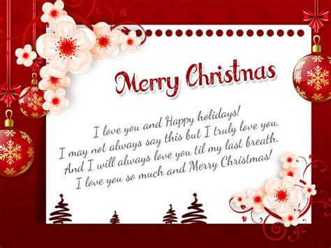 christmas wishes  husband romantic christmas messages