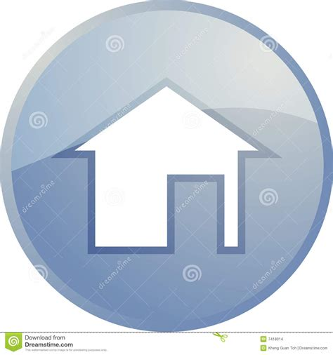 home navigation icon stock images image 7418014