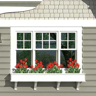 houses with window boxes a window box adds color photoshop redo how to revive a worn cottage this old house