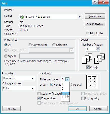 cara mudah print slideshow presentasi powerpoint tutorial89 mencetak print slide menjadi handout 171 tips trik ms