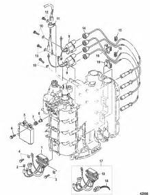 mariner 75 hp 4 stroke ignition components parts