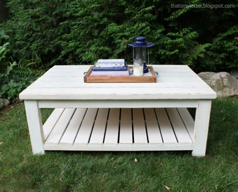 that s my letter habitat coffee table free plans