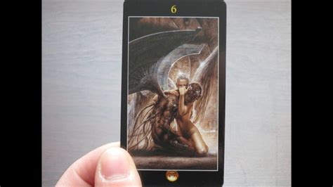 royo dark tarot deck 073873361x royo dark tarot walkthrough youtube