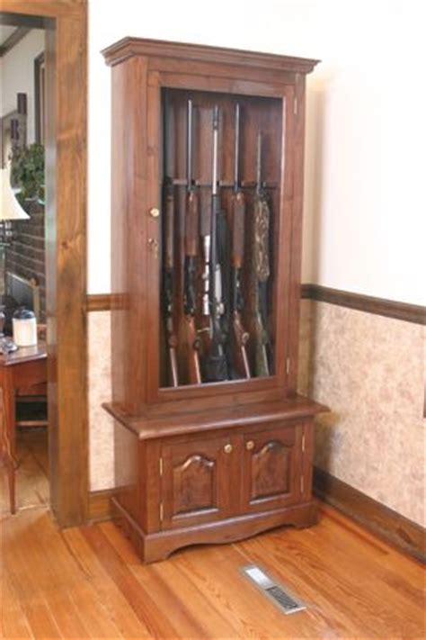 build   gun cabinet plans woodworking projects