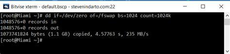 membuat vps linux cara membuat swap virtual memory di vps linux hosting