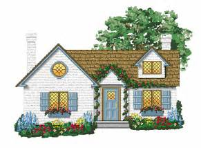 cotage cottage clipart 100510 187 vector clip art free clip art images