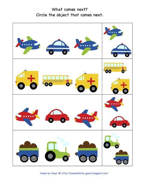kindergarten activities on transportation preschool printables kids math pinterest preschool