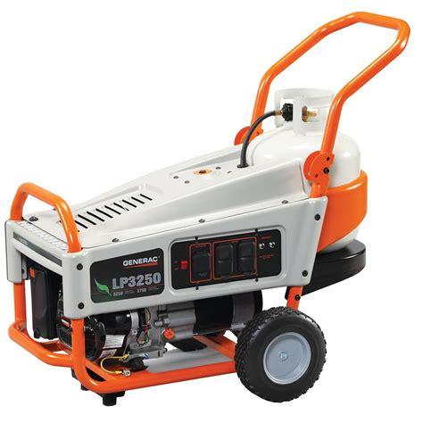 new generac generator propane powered portable standby