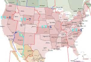 usa time zones utah nations time offsets to u t dst