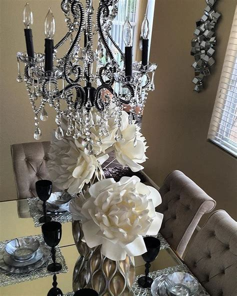 z gallerie curtains carvgladys84 s dining room gets a glam upgrade with our